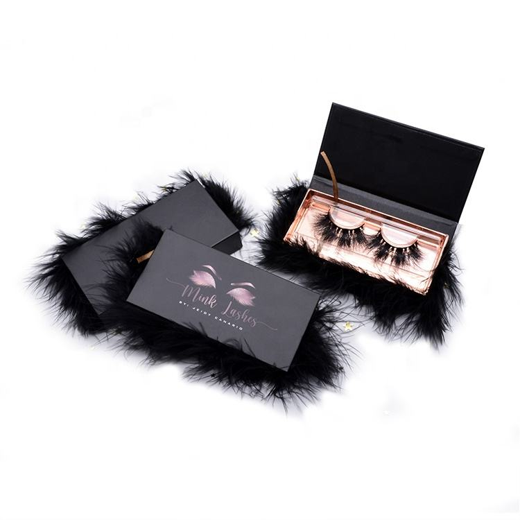 Clear Band 25Mm 5D Mink Eyelashes Vendor 25Mm 3D Faux Mink Lashes Custom Mink Eyelash Packaging Box China Eyelashes