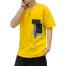 2019 Summer New Brand Clothing T Shirts Men T-shirt polyester Hip Hop O Neck