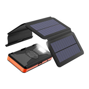 Portable Foldable Flexible Emergency Power High Capacity Solar Mobile Phones Panel Charger Bag For Outdoor Traveling Use