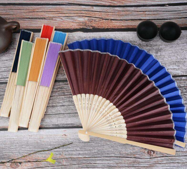 Business Gift Use and Sports Theme gift hand fans with brand logo