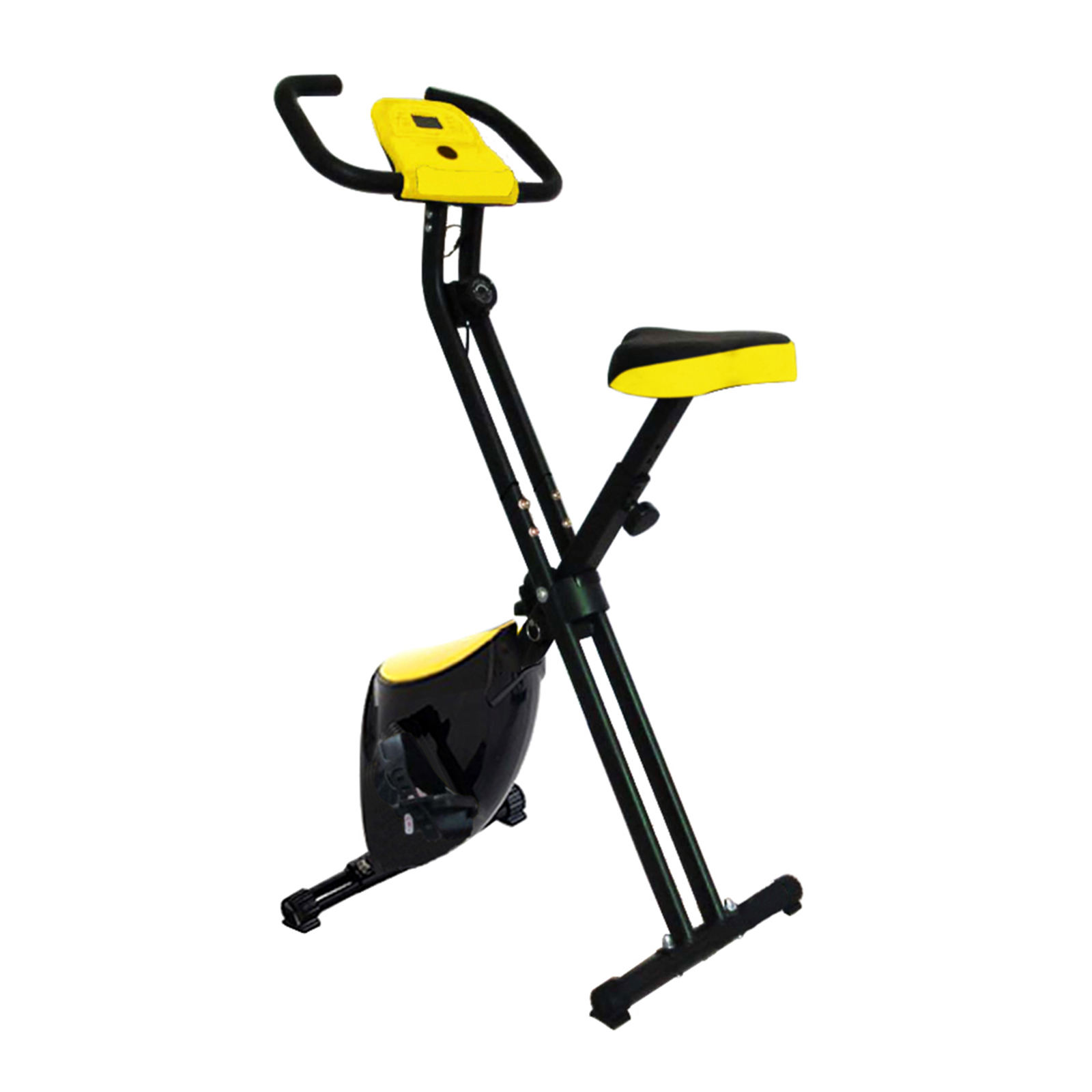 Indoor body building home gym equipment fitness machine exercise folding magnetic static bicycle sports spin bike