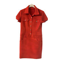 Wholesale Italy casual autumn high-end cheap girls dress