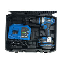 Professional Portable Combo Electric Drill Cordless 20 Volts Screwdriver