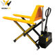 High quality cheap material lift manual scissor hydraulic forklift with custom logo