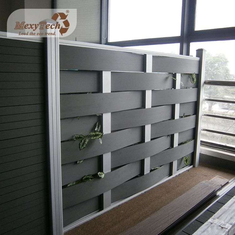 Woven style OEM/ODM/Customized philippines wpc garden gates and fences panels manufacturer