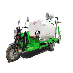 electric mist cannon truck for cleaning air