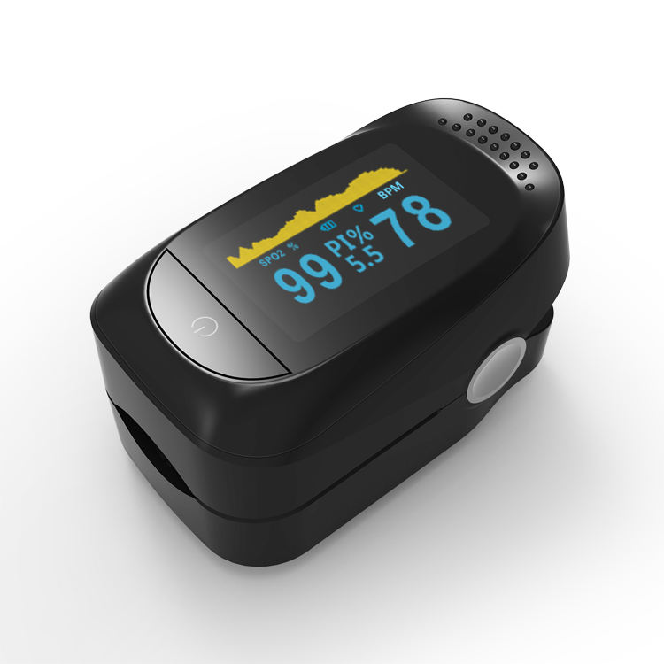 Medical equipment CE approved low-cost wholesale OLED display Spo2 digital fingertip pulse oximeter