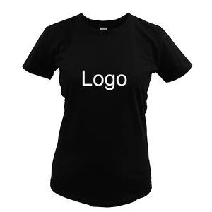 Cheap Custom Logo Cotton Blank Women T Shirt Printing