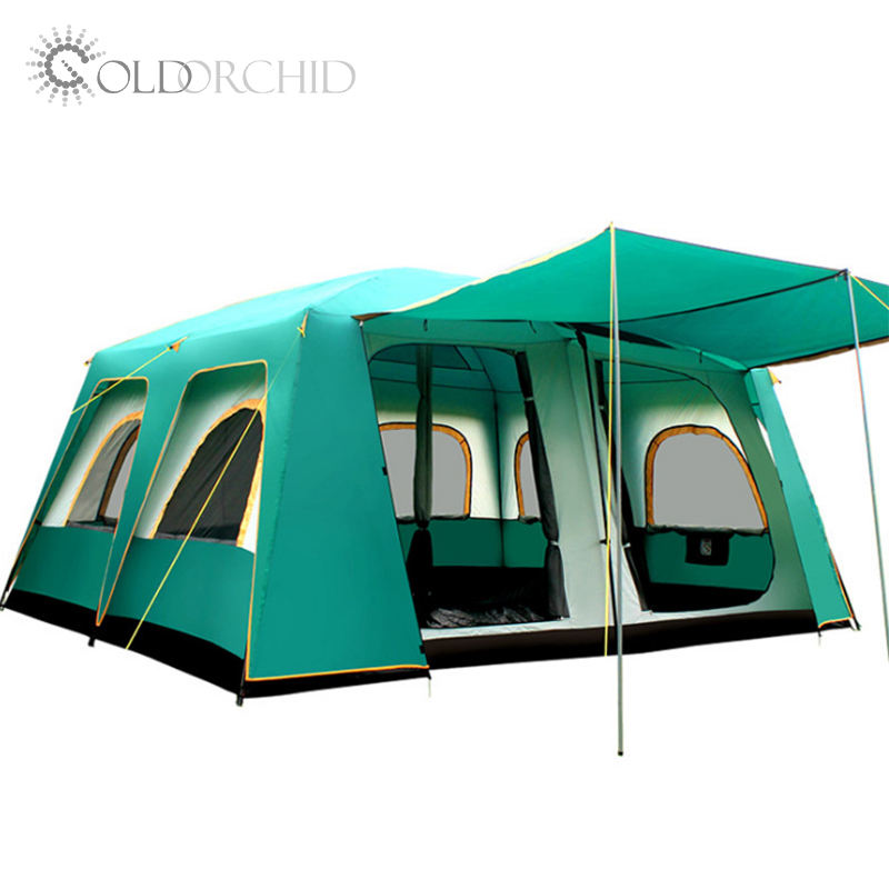 Best selling 8-12 persons luxury large waterproof camping tents for sale