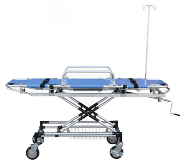 DJ-506 Good price Aluminum Alloy Luxury Manual Hospital Loading Ambulance Stretcher patient transfer stretcher