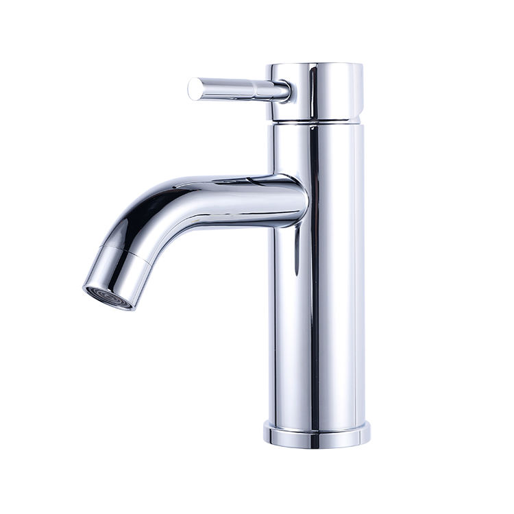 China Wenzhou UPC 1 Hole Elbow Chrome Plating Stainless Steel Bathroom Basin Faucet Mixer Tap Taps Grifo Calidad Lavabo