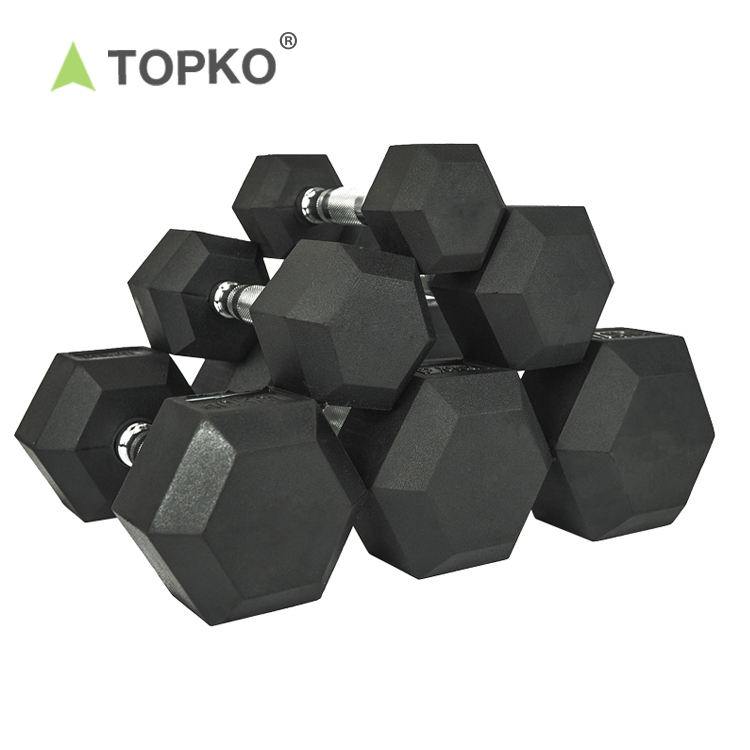 TOPKO fitness accessories weight product weights dumbbells hex