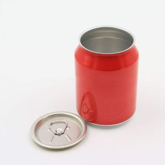 250ml 330ml 500ml color customized drink printing ring pull aluminum beverage beer can