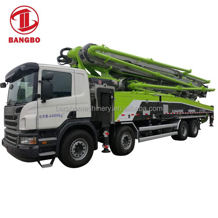 High quality concrete pump and pump cement truck for construction industrial sale