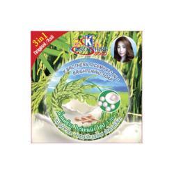 Rice Milk Collagen |Herbal|Natural soap|Thai|Whitening| Lightening| Anti-Bacteria|Reduce black spot| Asian skin