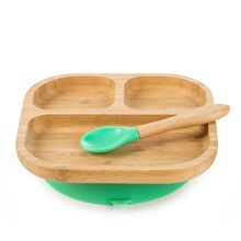 bamboo baby plate feeding plate