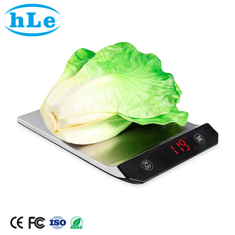 High Quality Charge 15Kg 33Lb products stainless steel digital food weighing kitchen scale for food