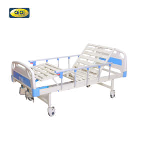 AI DI New Product 2 Crank Medical Bed 2 Function Hospital Bed Nursing Bed For Patients
