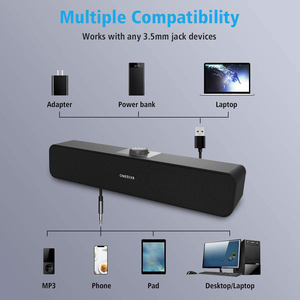 China Bt Speaker Hot Sale Smart TV Home Theater Sistem Musik Nirkabel Subwoofer Sound Bar Speaker Sistem Home Theater
