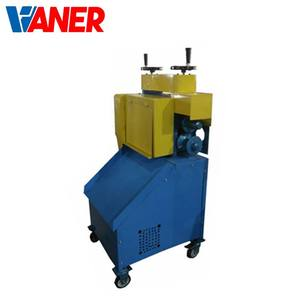VANER Factory launched newly type copper wire peel machine electric waste cable stripper recycling machines