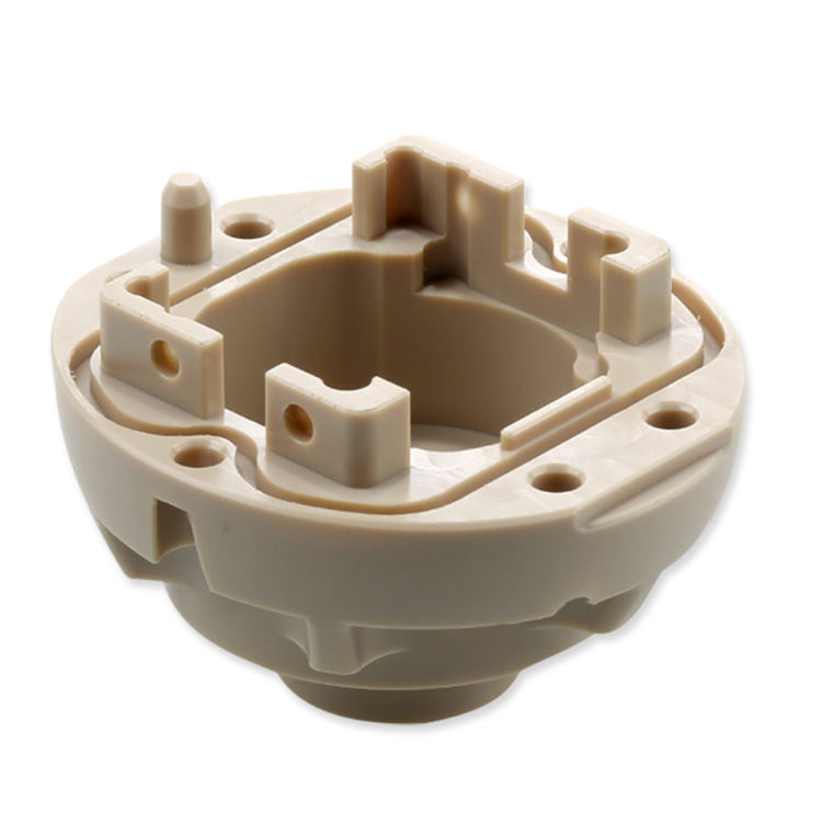 OEM plastics Peek Heat-resistant Peek Plastic Moulding Products of high precision injection mold