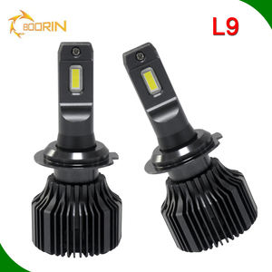 Auto-onderdelen, led/Hid Super Wit 12V 24V Cob Led Head Licht Fan H1 H3 H7 H11 H13 880 9005 9006 H4-3 8000lm Led Koplamp Lamp H4