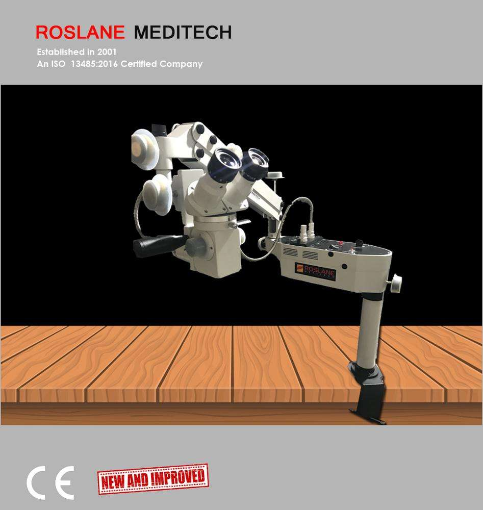 Roslane Eminent Wet Lab Microscope - Portable Ophthalmic Microscope