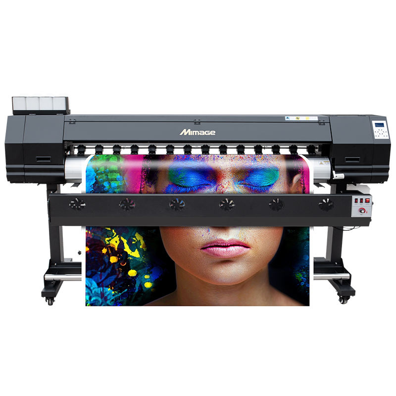 Mimage 1.6m/1.8m 6ft textile sublimation printing machine large format eco solvent printer
