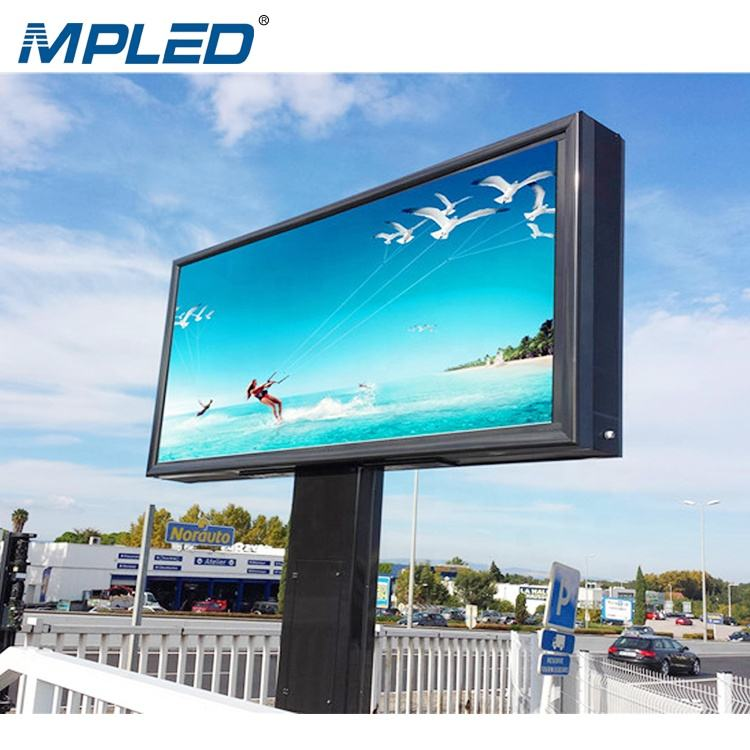 MPLED P6 P8 Flexible Outdoor Led Advertising Screen SMD Billboards Full Color Led Display Panel Price