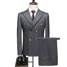 Professional supplier office suit blouse 2/3 pieces blazer vest business suit men's suit