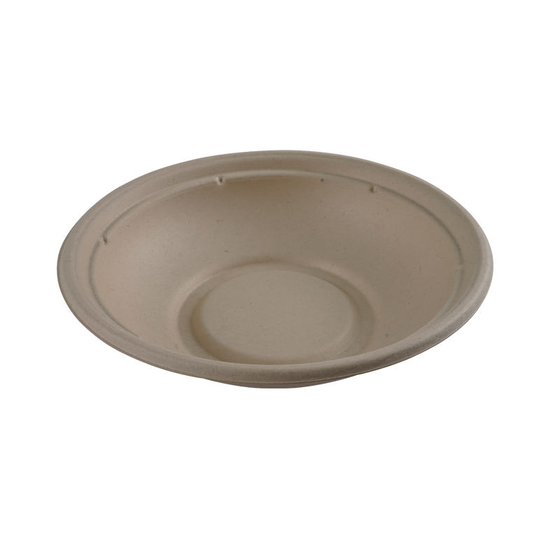 Biodegradable Free of PLA bowls sugar cane Compostable pulp paper bowl