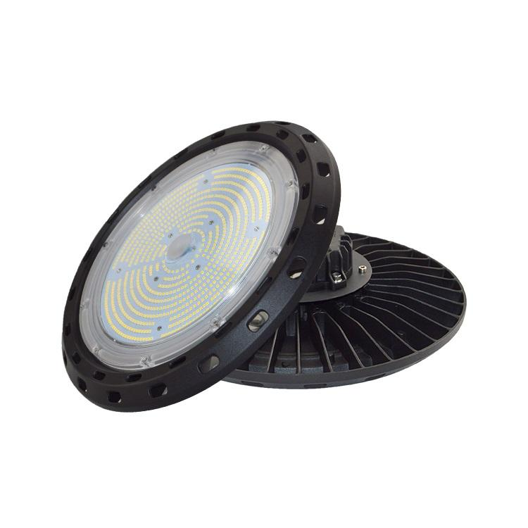 Factory industrial lighting ip65 aluminum housing 150w ufo led high bay