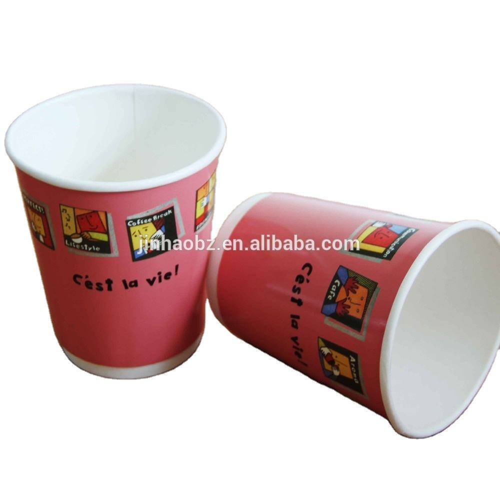 7oz Single Wall Style and Paper Material paper cup
