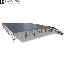 Aluminum Trailer Mobile Event Stage for Wedding Party