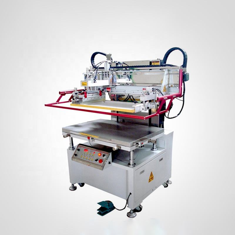 Automatic flat vacuum silk screen printing machine for sale