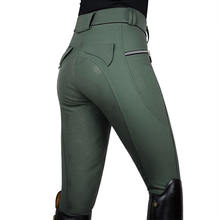 Wholesale Equestrian Riding Breeches Jodhpur Women Horse Riding Pants Equestrian Breeches