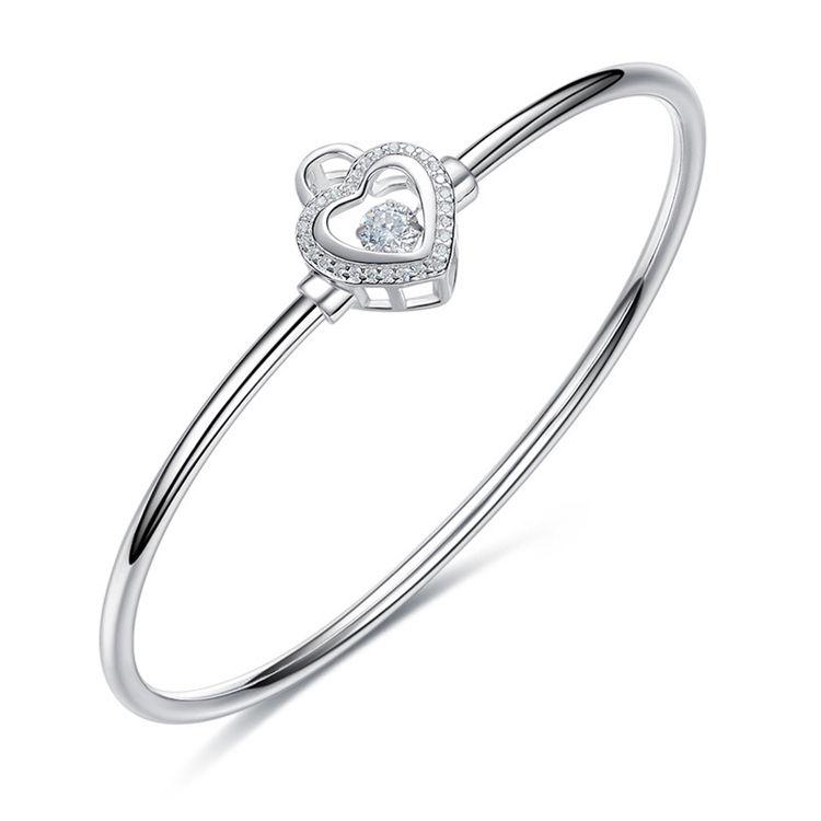 En <span class=keywords><strong>gros</strong></span> Personnalisé Mode 925 Bracelet en argent Pour Les Femmes Bijoux