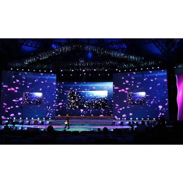 Indoor Led Display [ Resolution ] Led Wall Display Shenzhen Full Color Panel P4 Video Wall Indoor Led Display HD Resolution