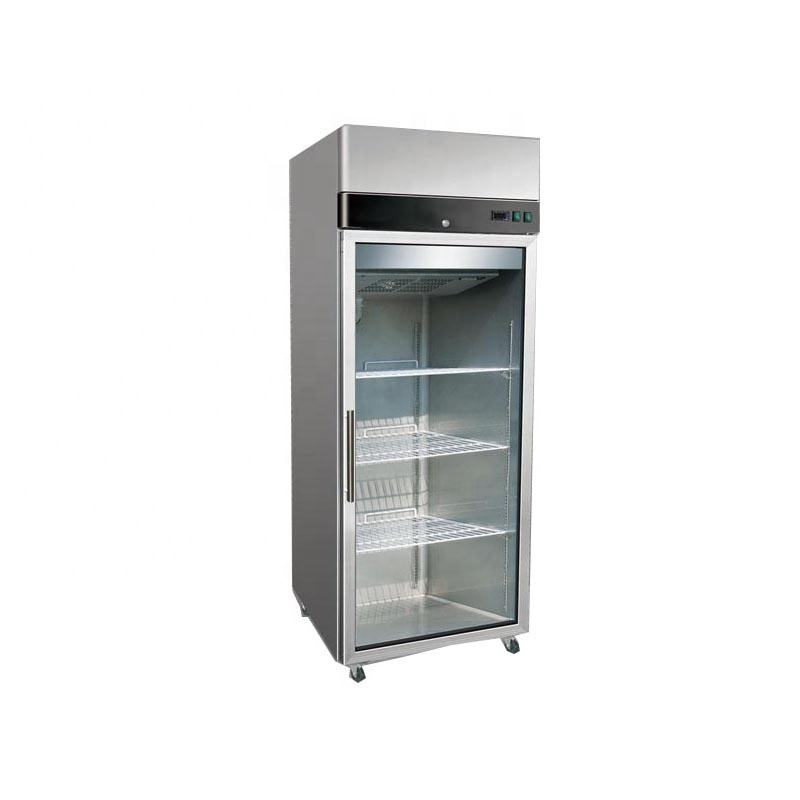 Professional Kitchen Appliance Used Commercial Refrigerators for Sale Glass Door Display