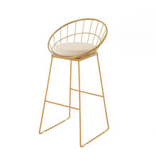 morden design dubai wedding party used hot sale good quality  china metal bar chair loft rebar stool chair for bar furniture