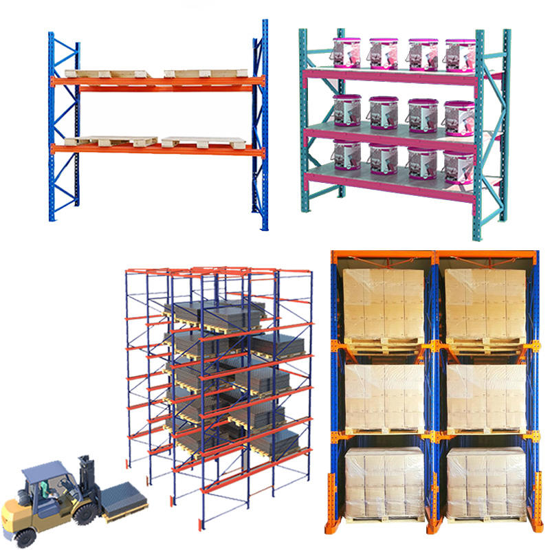 ce sgs tuv iso drive in push back steel rack mobile racking fifo pusher for rack shelf shelves