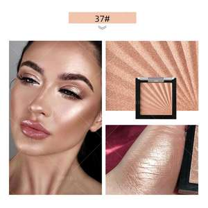High Quality OEM 3D Face Makeup Private Label Cosmetic Brighten Shimmering Highlighter