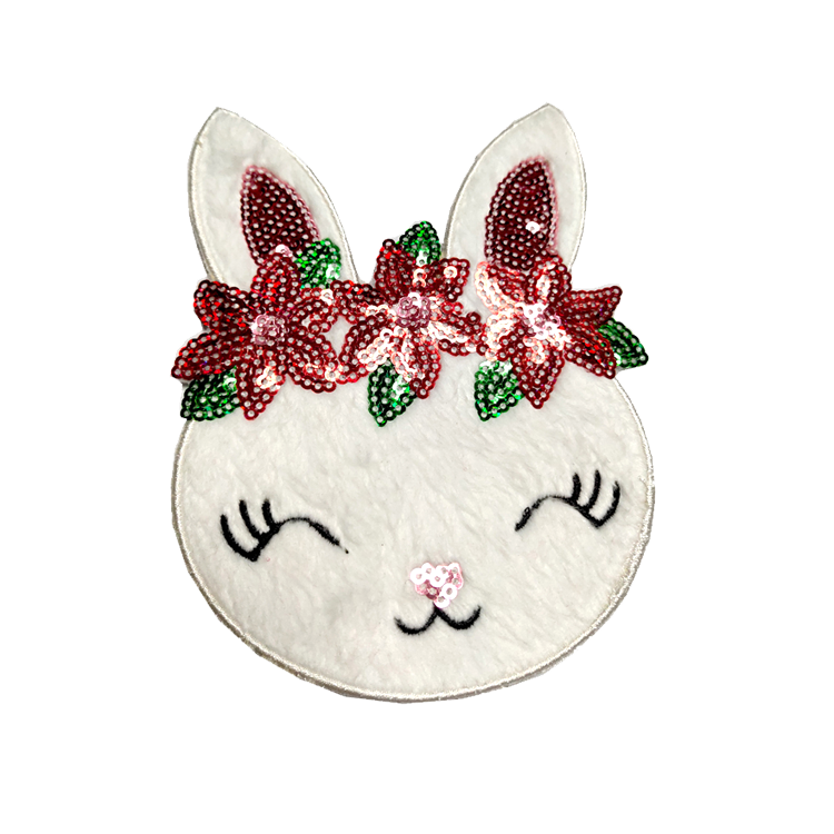 High Quality Cartoon Clothes Accessories Decorative Embroidered Applique Sequin Patch