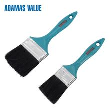 Plastic Handle Paint Brush with White Bristle, professional oil painting brush,painting brush