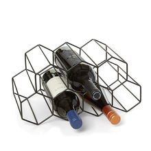 Luxury Custom High Quality Best Gifts 9 bottles  decoration  home metal wine rack