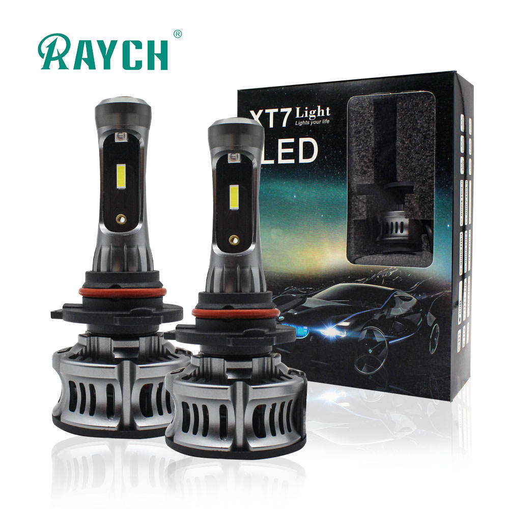 2020 Mini Projector Lens XT7 CSP CAR H4 H4-3 H4-2 9012 H7 LED Headlights HIGH LOW FOG Light 6500K 12V 24V BLUE ANGEL DEVIL EYES