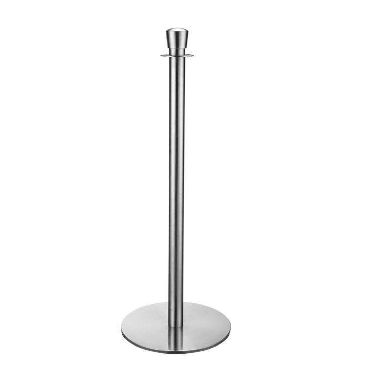 Hotel Bank Stand Crowd Control Barrier Stanchion Post