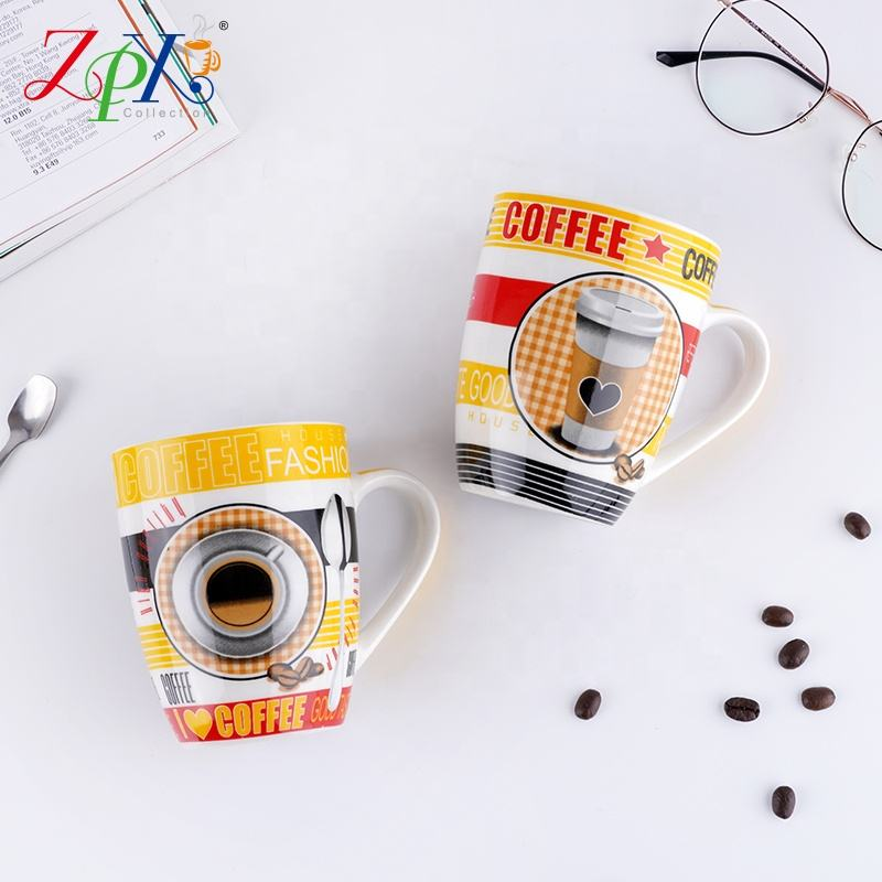 Factory direct sell aurora color mug cup magic coloro mug cup
