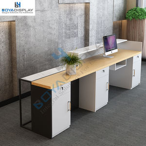 Factory Direct Supply Retail Showroom Kantoor Salon Moderne Front Receptie Teller Tafel