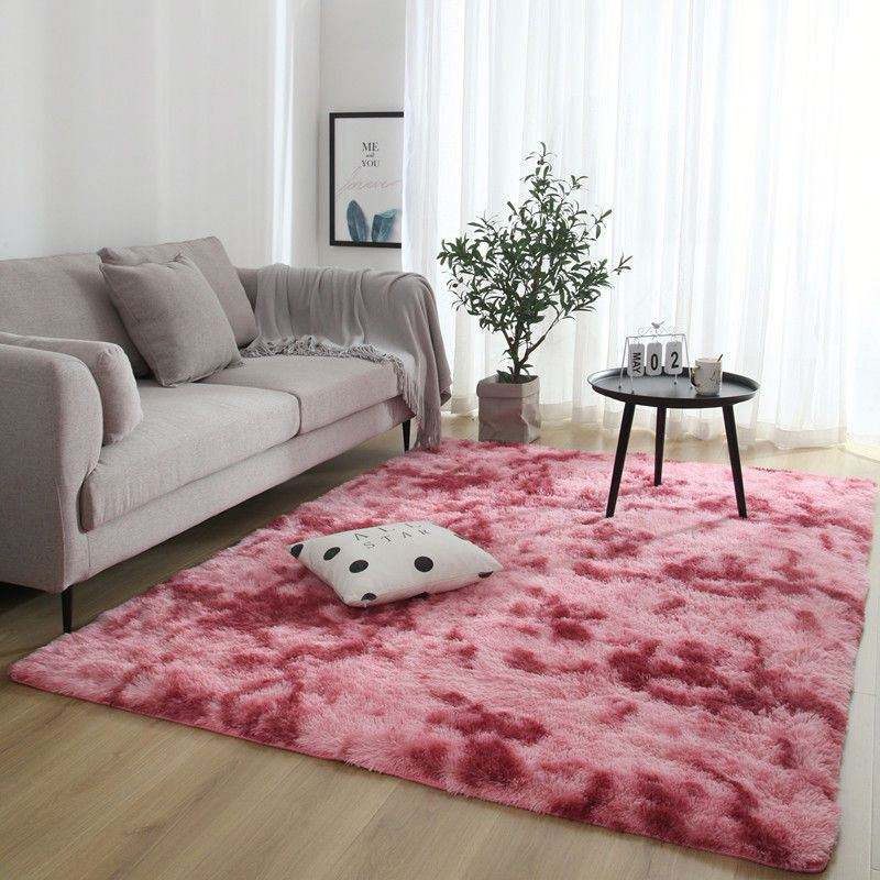 Anti-slip Memory Foam living room shag rug, area carpets and rugs